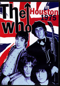 WHO THE-IN HOUSTON 1975 DVD *NEW*