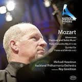 MOZART-HOUSTON GOODMAN AUCKLAND PHIL ORCH *NEW*