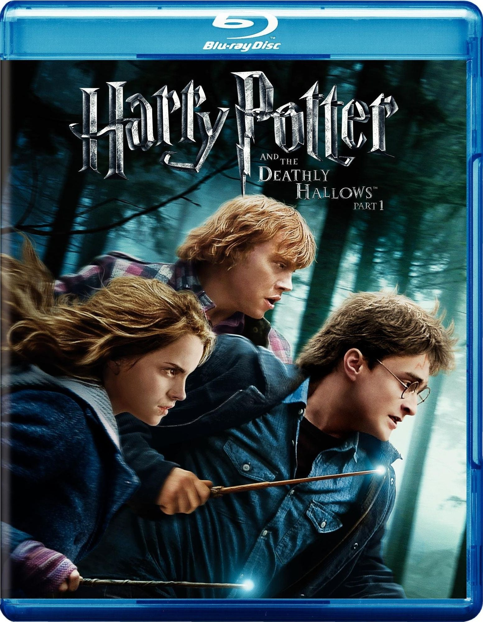 HARRY POTTER THE DEATHLY HALLOWS PT 1-BLU DVD COMBO PACK VG