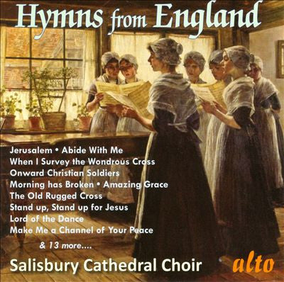 FAVOURITE HYMNS FROM ENGLAND-SALISBURY CATHEDRAL CHOIR *NEW*