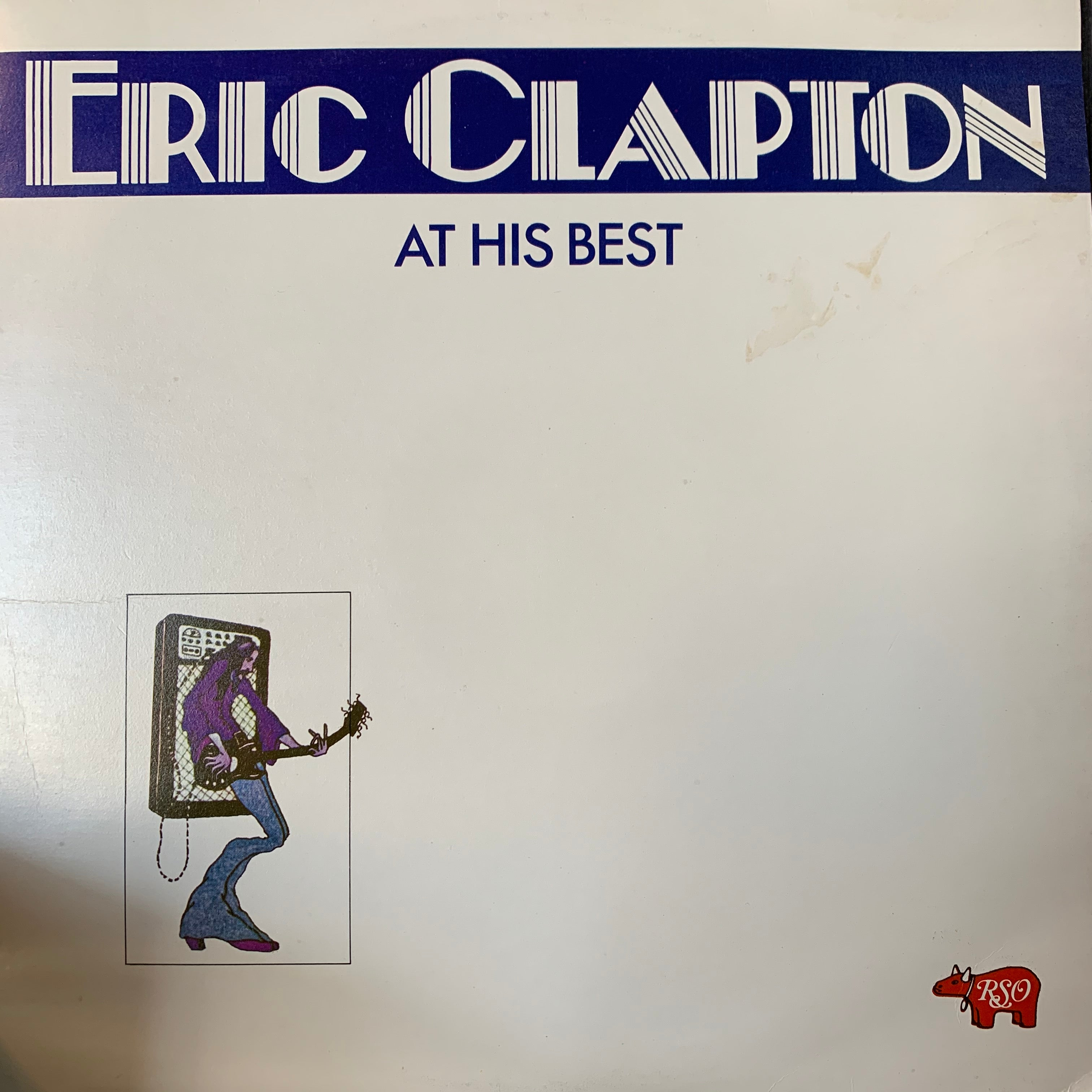 CLAPTON ERIC-AT HIS BEST 2LP VG+ COVER VG+