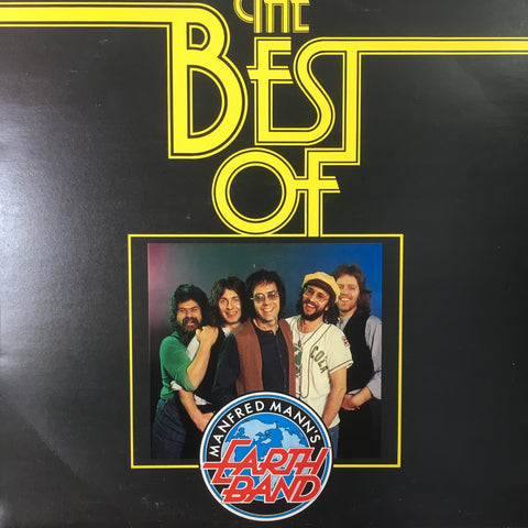 MANFRED MANN'S EARTH BAND-THE BEST OF LP VG+ COVER VG+