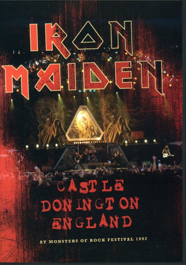 IRON MAIDEN-CASTLE DONNINGTON 1992 DVD *NEW*