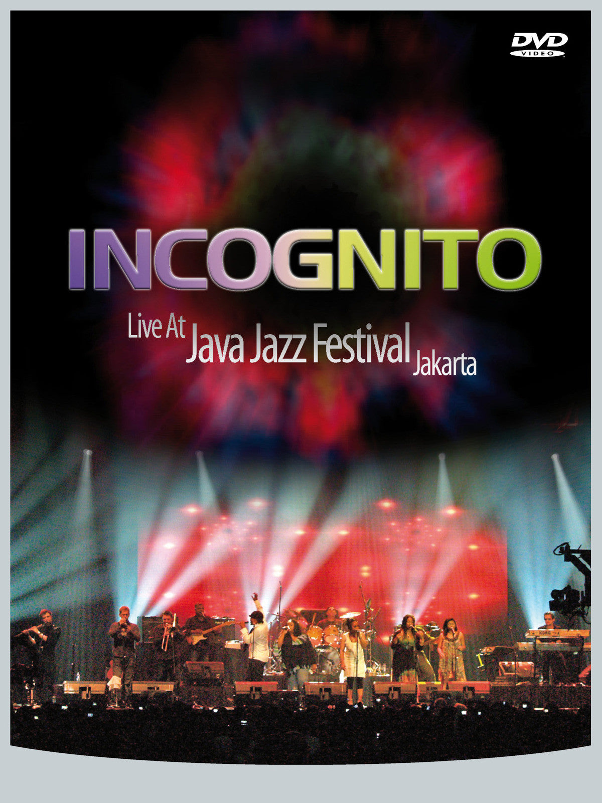 INCOGNITO-LIVE AT JAVA JAZZ FESTIVAL JAKARTA DVD *NEW*