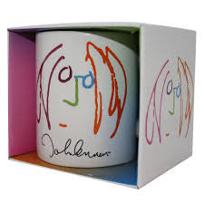 LENNON JOHN-FACE SKETCH COFFEE MUG *NEW*