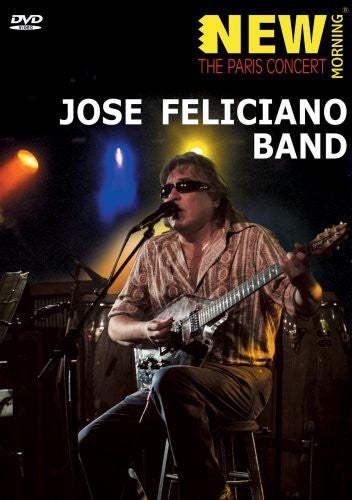 FELICIANO JOSE BAND-NEW MORNING PARIS CONCERT DVD *NEW*