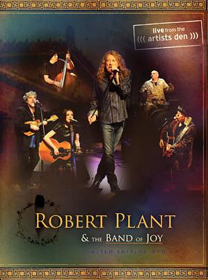 PLANT ROBERT AND THE BAND OF JOY-LIVE THE ARTISTS DEN DVD *NEW*