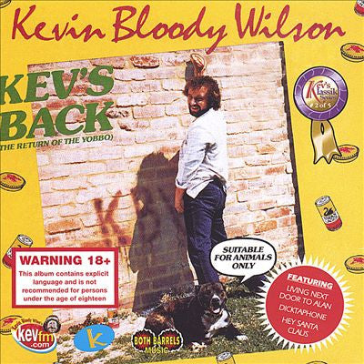 WILSON KEVIN BLOODY-KEVS BACK *NEW*