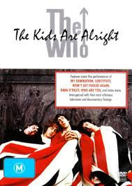 WHO THE-THE KIDS ARE ALRIGHT DVD *NEW*