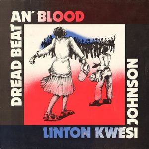 JOHNSON LINTON KWESI-DREAD BEAT AN' BLOOD LP VG COVER VG
