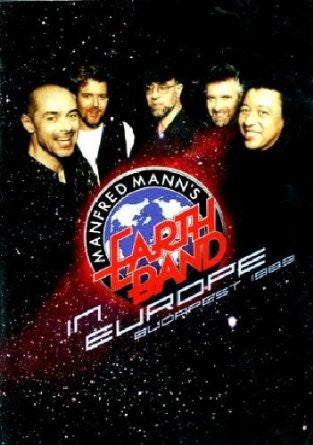 MANFRED MANN'S EARTH BAND-IN EUROPE BUDAPEST DVD *NEW*