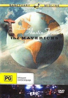 MAVERICKS-LIVE IN AUSTIN TEXAS DVD *NEW*