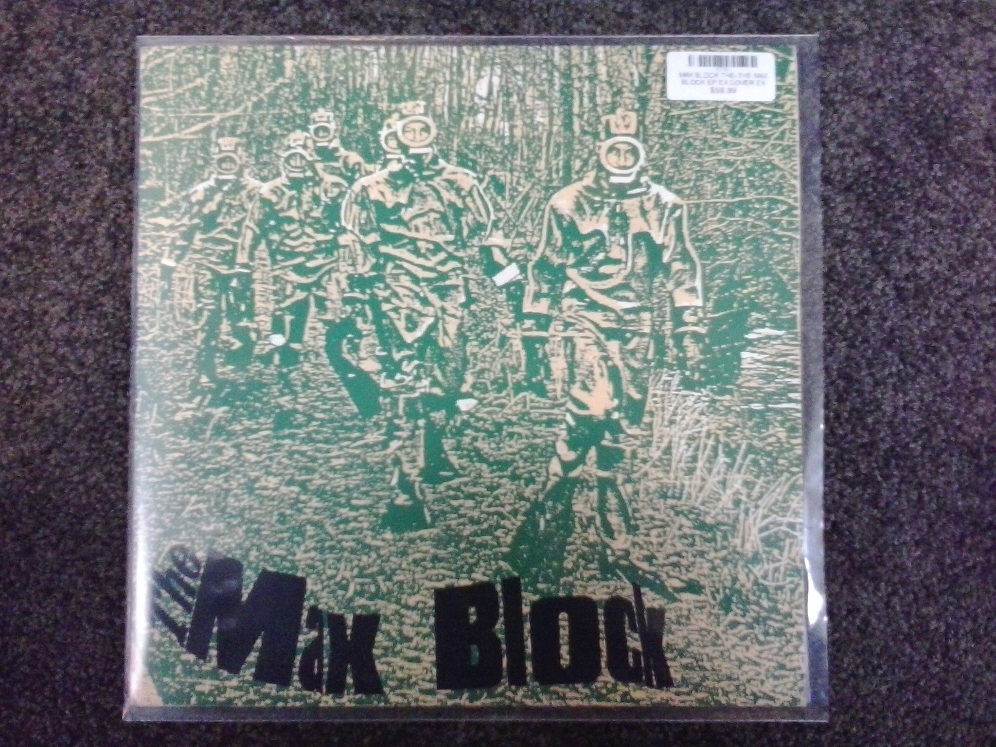 MAX BLOCK THE-THE MAX BLOCK EP EX COVER VG+
