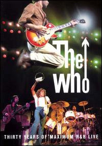 WHO THE-MAXIMUM R AND B LIVE DVD *NEW*