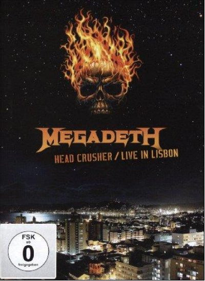 MEGADETH-HEADCRUSHER LIVE IN LISBON DVD *NEW*