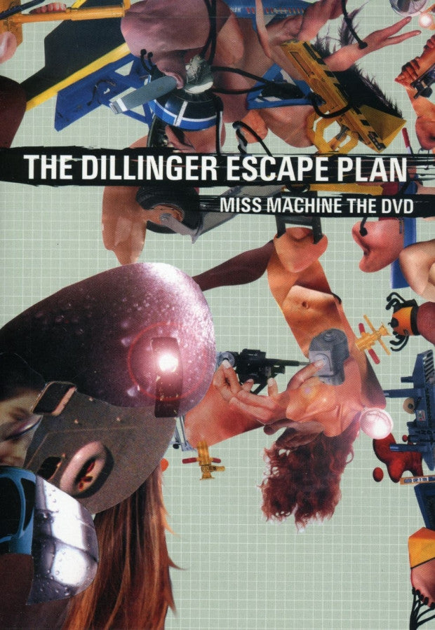 DILINGER ESCAPE PLAN-MISS MACHINE THE DVD *NEW*
