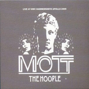 MOTT THE HOOPLE-LIVE AT HAMMERSMITH APOLLO 2009 3CD *NEW*