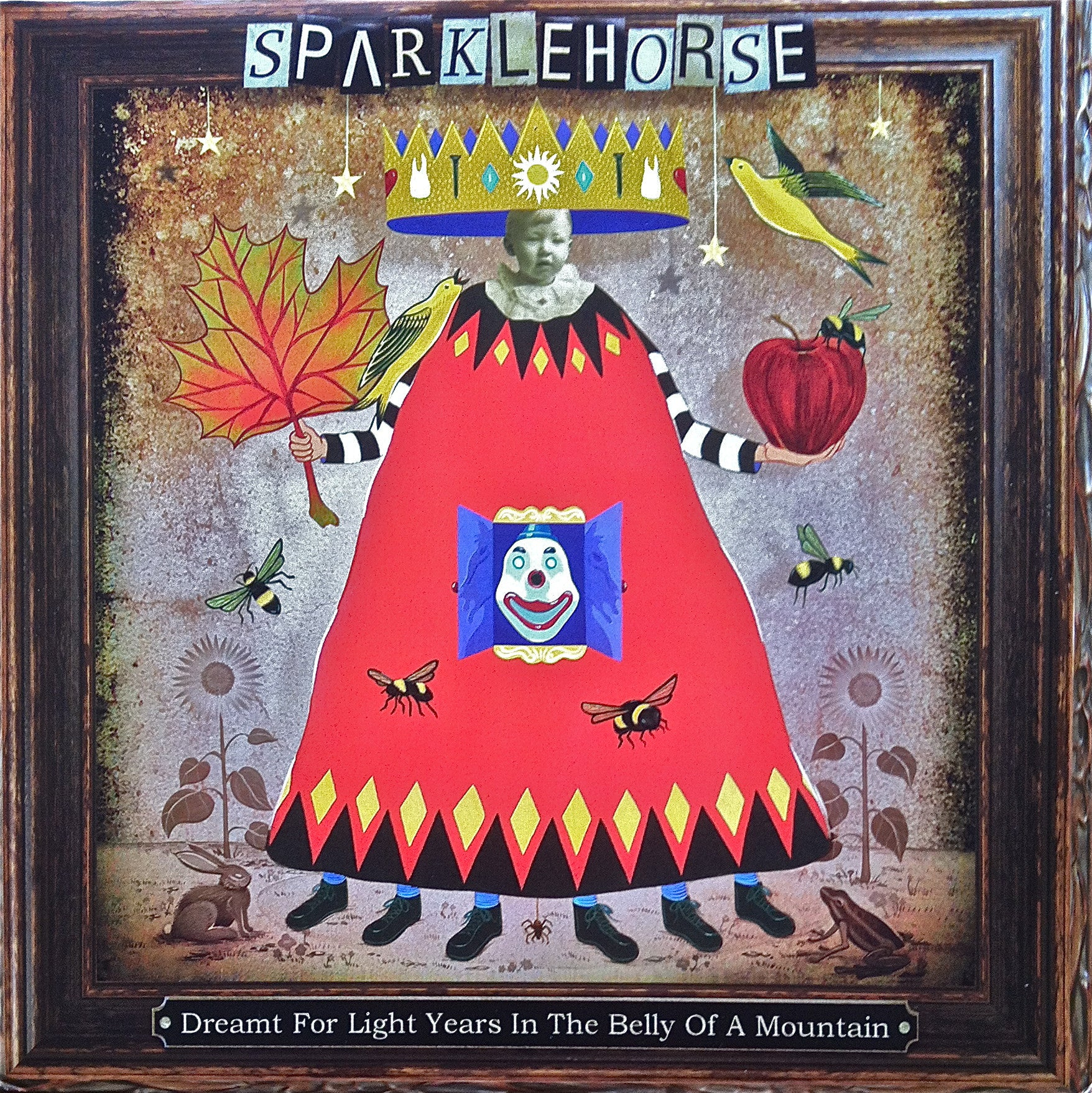 SPARKLEHORSE-DREAMT FOR LIGHT YEARS IN THE BELLY OF A CD VGPLUS
