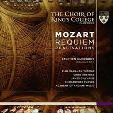 MOZART-REQUIEM THE CHOIR OF KINGS COLLEGE 2CDS *NEW*