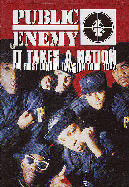 PUBLIC ENEMY-IT TAKES A NATION DVD *NEW*
