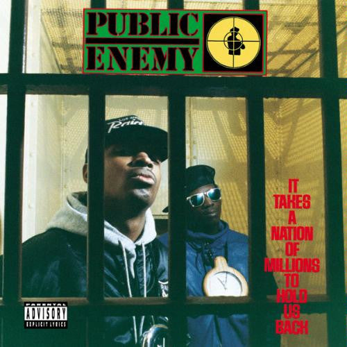 PUBLIC ENEMY-IT TAKES A NATION OF MILLIONS TO HOLD US BACK CD VG