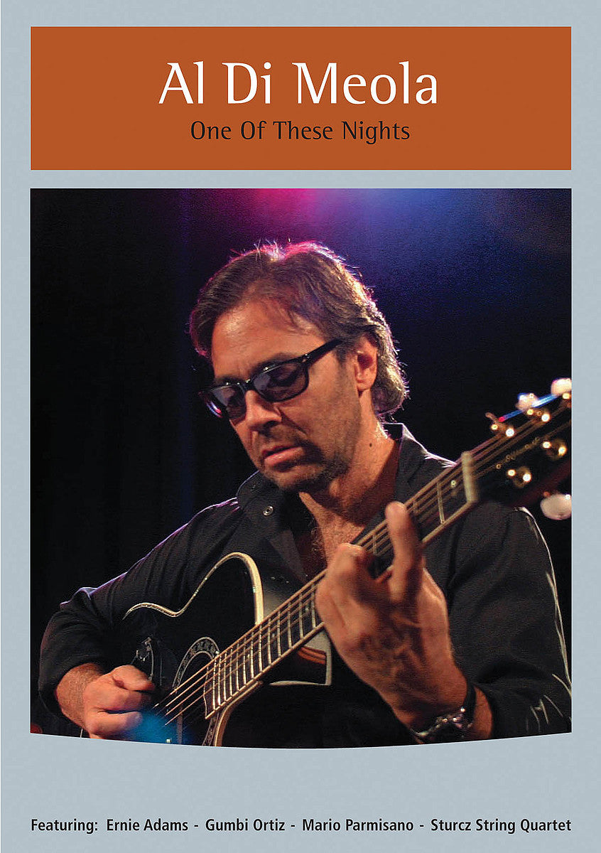 DI MEOLA AL-ONE OF THESE NIGHTS DVD *NEW*
