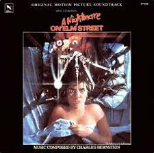 A NIGHTMARE ON ELM STREET-OST LP EX COVER VG+