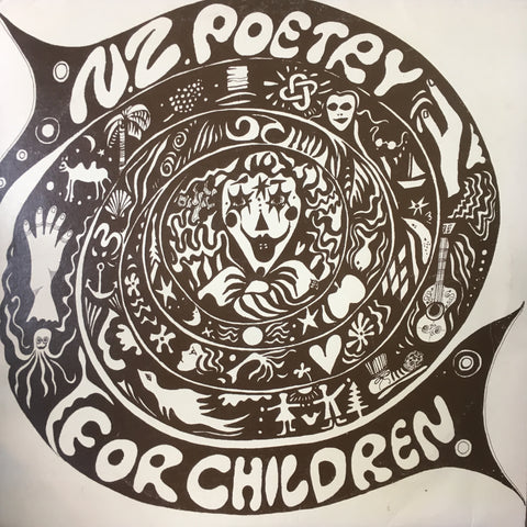 N.Z. POETRY FOR CHILDREN-VARIOUS ARTISTS LP EX COVER VG
