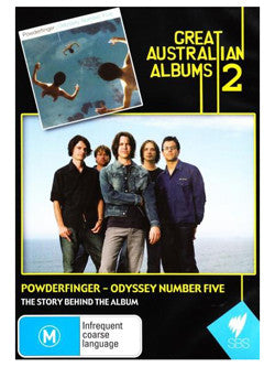 POWDERFINGER-ODYSSEY NUMBER FIVE DVD *NEW*