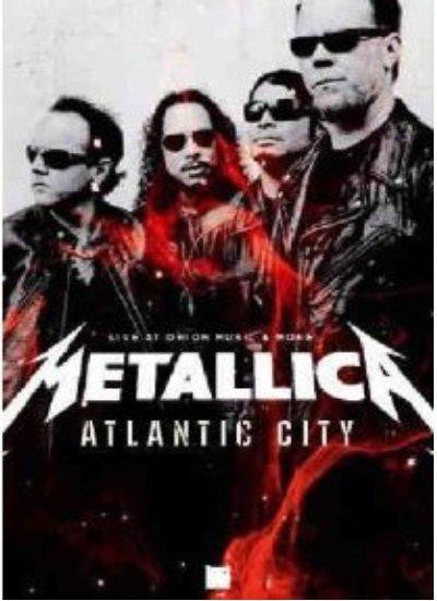 METALLICA-ATLANTIC CITY LIVE AT ORION DVD *NEW*