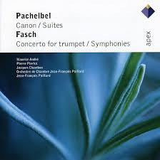 PACHELBEL FASCH-CANNON AND CONCERTO FOR TRUMPET *NEW*