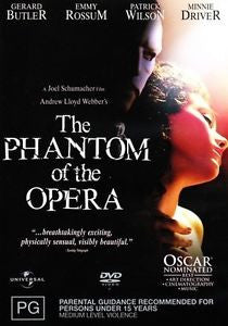 THE PHANTOM OF THE OPERA DVD LN