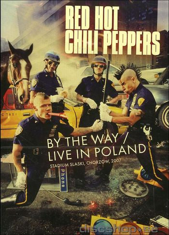 RED HOT CHILI PEPPERS-BY THE WAY LIVE IN POLAND DVD *NEW*