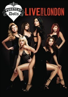 PUSSYCAT DOLLS-LIVE FROM LONDON DVD *NEW*