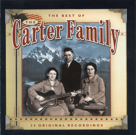 CARTER FAMILY THE-THE BEST OF THE CARTER FAMILY CD VG