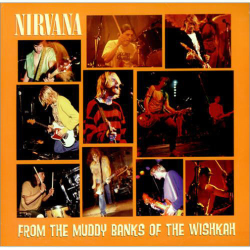 NIRVANA-FROM THE MUDDY BANKS OF THE WISHKAH CD VG