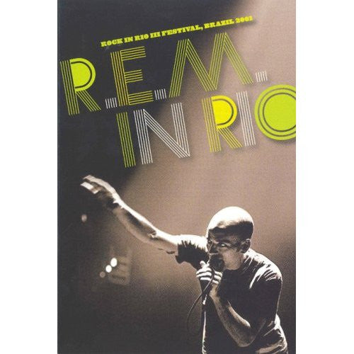 REM IN RIO-ROCK IN RIO BRAZIL 2001 DVD *NEW*