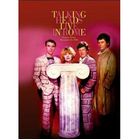 TALKING HEADS-LIVE IN ROME DVD *NEW*
