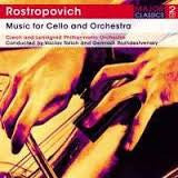 ROSTROPOVICH-MUSIC FOR CELLO AND ORCHESTRA 2CDS *NEW*