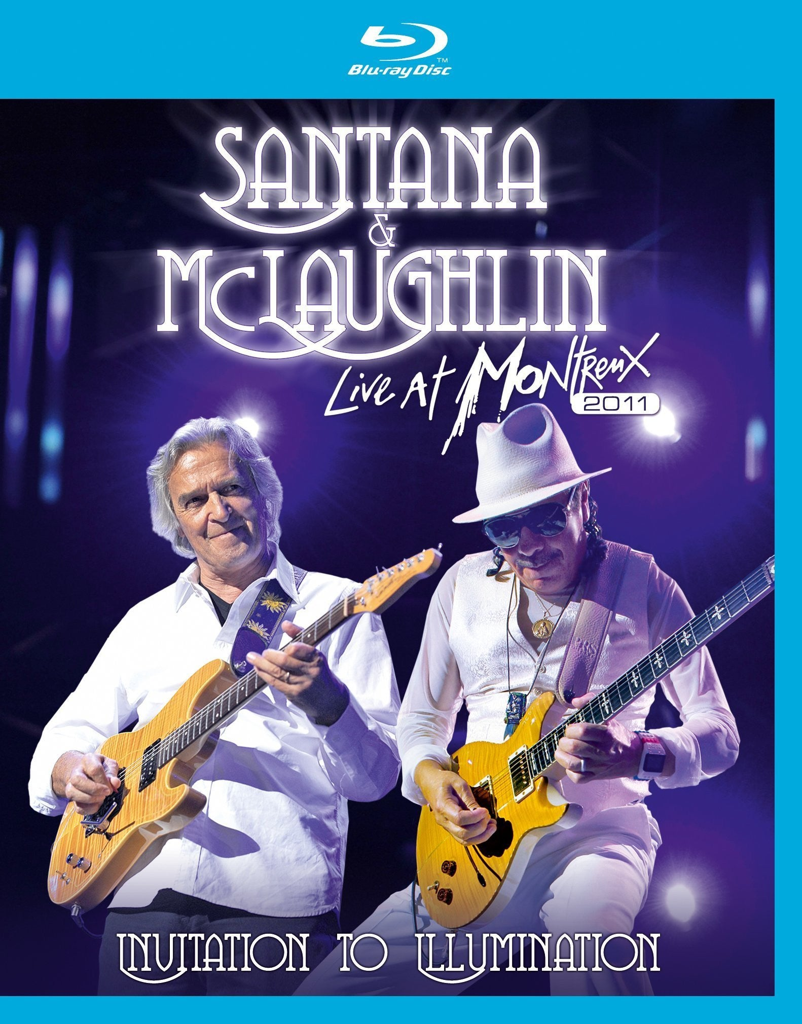 SANTANA AND MCLAUGHLIN-LIVE AT MONTREUX BLURAY *NEW*