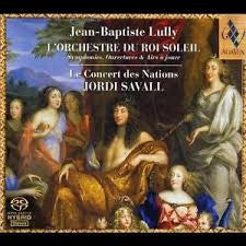 LULLY JEAN BAPTISTE-JORDI SAVALL CONCERT DES NATIONS *NEW*