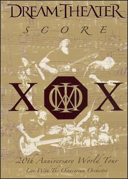 DREAM THEATER-SCORE DVD *NEW*