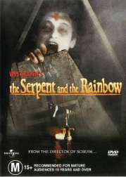 THE SERPENT AND THE RAINBOW DVD VG