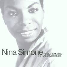 SIMONE NINA-TO LOVE SOMEBODY AND HERE COMES THE SUN CD VG