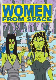 WOMEN FROM SPACE DVD *NEW*