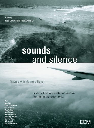 SOUNDS AND SILENCE TRAVELS WITH MANFRIED EICHER DVD *NEW*