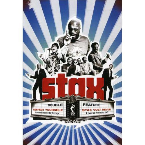 RESPECT YOURSELF DOCUMENTARY AND STAX VOLT REVUE LIVE 2DVD *NEW*