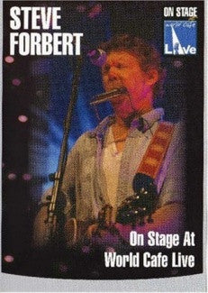 FORBERT STEVE-ON STAGE AT WORLD CAFE LIVE DVD *NEW*