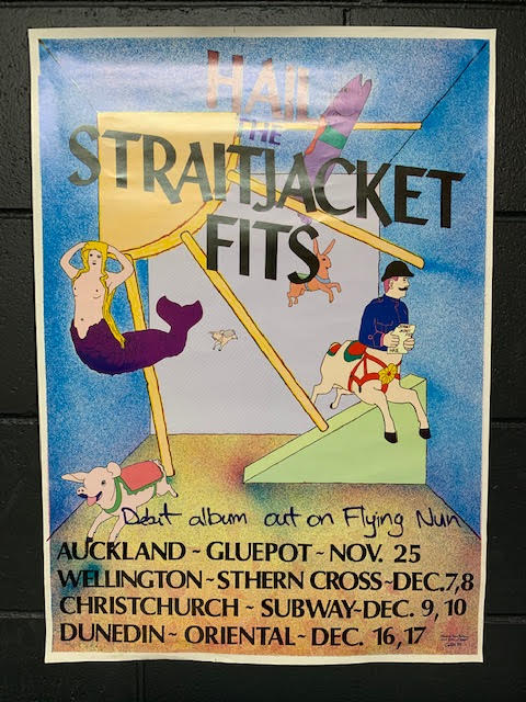 HAIL THE STRAITJACKET FITS ORIGINAL PROMO POSTER