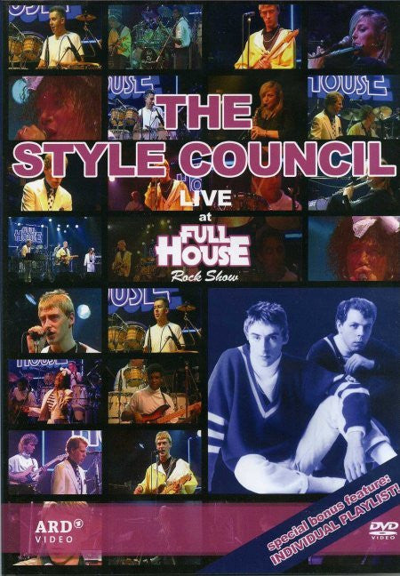 STYLE COUNCIL-AT FULL HOUSE ROCK SHOW DVD *NEW*
